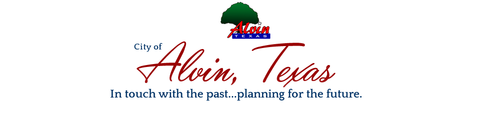 City of Alvin Texas Logo